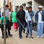 Blind Awareness & White Cane Day Walk