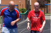 Jerry Gatton & Dale Becker training