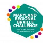 Maryland Regional Braille Challenge Logo