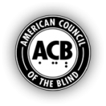 The logo for American Council of the Blind