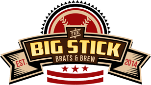 The logo for The Big Stick, founded in 2014