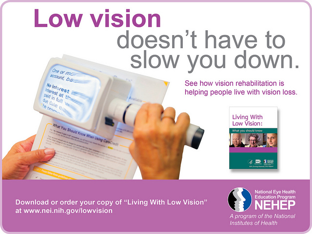 Low vision doesn't have to slow you down